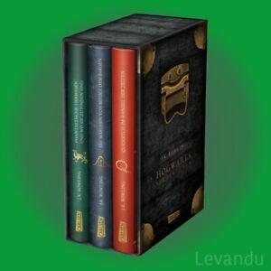 HOGWARTS-SCHULBÜCHER | J.K. ROWLING | Harry Potter - alle 3 Bände im Schuber