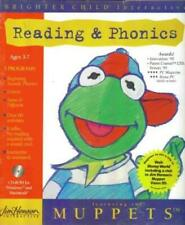 Muppet Reading & Phonics Pc Mac Cd children learn to read beginning sounds games