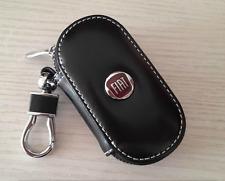 Elegante Rindsleder Autoschlüssel Schlüsseltasche Schlüsselanhänger für FIAT