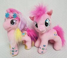 "My Little Pony Plush 12"" Pink Pony Interactive Story Plush 2 Ponies *No Books"