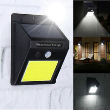 48 LED Solar Powered PIR Motion Sensor Wall Light Outdoor Waterproof Garden Lamp