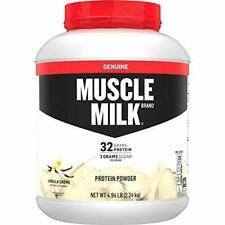 Muscle Milk Genuine Protein Powder Vanilla Crème 32g Protein 4.94 Pound 32 Se...