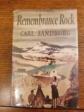 Signed Carl Sandburg Rememberance Rock