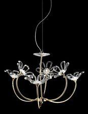 Lampadario contemporaneo design moderno in cristallo BELL daisy 3010/L6L