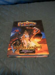 Rare EVERQUEST Role Playing Game Player's Handbook! Excellent  Hardcover 2002
