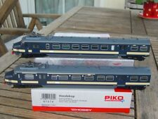 "PIKO 57574 Elektro-Triebwagen ""Hondekop"" 2-teilig Benelux  SNCB/NMBS mit DSS,OVP"