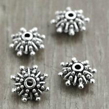 15pcs Tibetan Silver Metal Loose Bead bracelet Oblate 18x18x8mm