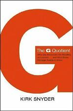 The G Quotient: Why Gay Executives are Excelling as Leaders... And Wha-ExLibrary
