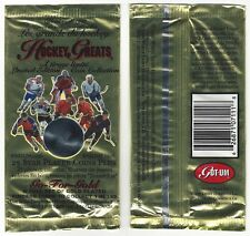 UNOPENED PACK OF 1996-97 GOT-UM HOCKEY GREATS COINS - SCARCE!