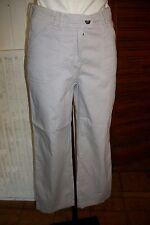 Pantacourt bermuda coton gris clair stretch SAINT JAMES 38 W28 10UK ET39