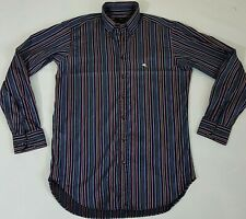 ETRO SHIRT FORMAL CASUAL LONG SLEEVE Multicolored STRIPED BROWN BLUE PINK M L 40