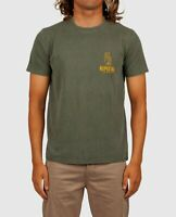 Rip Curl Men's S/S T-Shirt WAVY GRAVY - DGY - Large - NWT