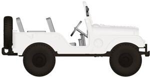 BREKINA 58902 Jeep Universel Blanc H0