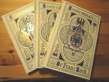 Rheinlands Baudenkmale des Mittelalters in 3 Bänden, von Dr. Fr. Bock