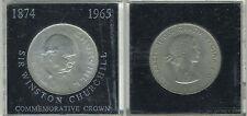 Great Britain 1965 - Crown Copper-Nickel Coin - Elizabeth II - Churchill - box-7