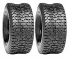 2 New 16x6.50-8 Turf 2 Ply Tube Type Tire John Deere Lawn Mower Tractor 16 650 8