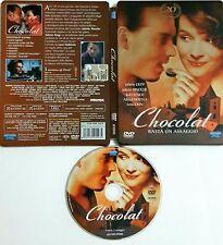 Chocolat (2000) DVD Edizione Steelbook Rara 20° Anniversary