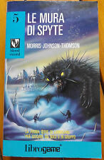 KM LIBROGAME BLOOD SWORD 5 LE MURA DI SPYTE LIBRO GAME NO D&D LUPO COMPACT
