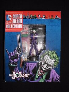 DC Comics Super Hero Collection - The Joker Resin Figurine w/ Booklet - NIB
