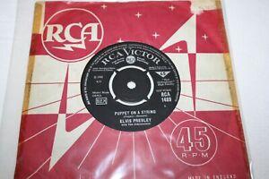"Elvis RCA 45 7"" single Puppet On A String 1489 black label small Dot k/t G/VG"