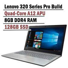 Brand new Lenovo 320 AMD Quad core A12-9720P 8G DDR4 128GB BOOT SSD Windows 10