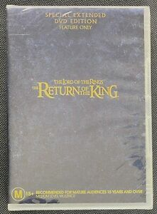The Lord Of The Rings (LOTR) THE RETURN OF THE KING Special Extended DVD Edition