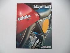 advertising Pubblicità 1974 MOTO FANTIC CABALLERO 125 RC
