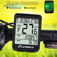 Wireless Cycling Bike Computer Bicycle Waterproof LED Speedometer Odometer hot