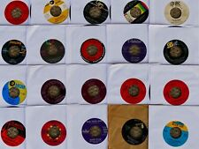 "Lot of 93 Oldies Rock Pop R&B Soul 7"" 45 rpm vinyl record collection 50s60s rare"