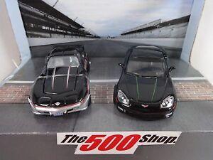 1978 & 2008 Indianapolis 500 Chevrolet Corvette Pace Cars Set 1:64 Diecast