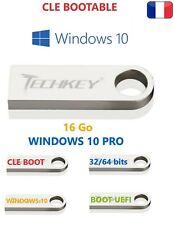 clé usb de boot installation réparation windows 10 32 ou 64 bits 21H2 + cadeau