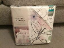Entièrement neuf sous emballage Prochain florale Aquarelle Tencel Housse de coue...