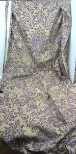 CHARTER CLUB shower curtain  Purple ~ Tan  Gorgeous!  Heavyweight