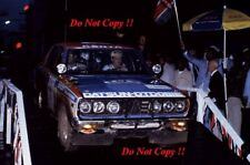 Shekhar Mehta & Mike Doughty Datsun 160J Safari Rally 1978 Photograph 1