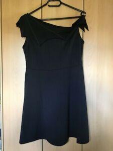 Gothic PUNKRAVE Kleid mit Fledermauskragen M/L