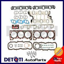 Head Gasket Set Lifters Fix Kit For 97-00 Ford Mazda 4.0L V6 VIN Code X Graphite