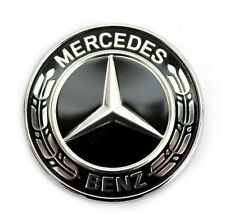 MERCEDES-BENZ STELLA EMBLEMA griglia anteriore Grill Nero w222 w213 w205 a0008171901