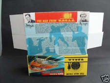 C0RGI 497 MAN FROM UNCLE  THRUSHBUSTER (REPRO  BOXES ONLY)- NO CAR INCLUDED