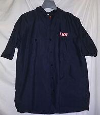 CKS Custom Kart Suits Racing Employee Black Work Shirt Sz L