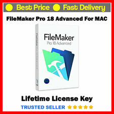 FileMaker Advanced Pro 18 For Mac 🔐 Genuine Lifetime License 📨 Fast Delivery