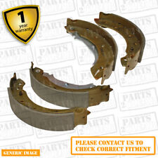 Ford Escort MK V 1.8 Convertible 90 Rear Brake Shoes Set For Brake Drums 203mm