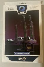Firefly Serenity Q Craft Alliance Ship Model, New in Box , Sealed Wrapper, Loot