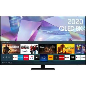"""Samsung 55"""" Q700 8K HDR10+ Smart QLED TV with Bixby, Alexa and Google Assistant"""