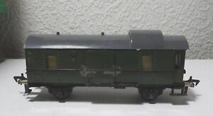 Fleischmann I 411 - offener Gepäckwagen- Made in US Zone Germany Spur HO