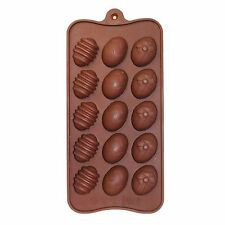 15 x Mini Easter Egg Chocolate Tray Mould Homemade DIY Cooking Activities