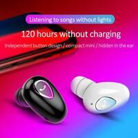 Stereo Mini MIC Earbud Wireless Bluetooth 4.1 Sports Earphone Headset In-Ear