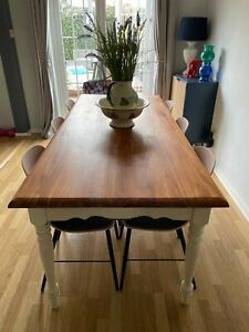 laura ashley bramley dining table seat 8 possible 10 table only no chairs