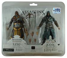 NECA Assassin's Creed EZIO FLORENTINE SCARLET CASPIAN TEAL Action Figure 17 Cm