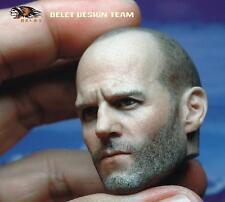 "BELET BT012 1/6 Jason Statham Head Sculpt Model 2.0 For 12"" Male Figure Body Toy"
