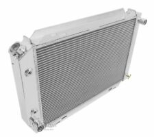 """1979-1993 Ford Mustang Aluminum High Performance Radiator 2 Row w/ 1"""" Tubes #138"""
